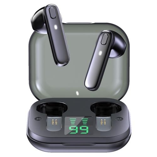 Fones de ouvido R20 True Wireless Fones de ouvido semi-in-ear BT com som estéreo