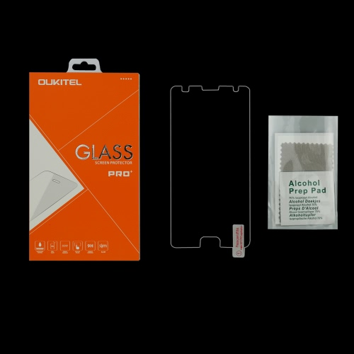 Filme de proteção de tela de vidro temperado para 5.5 OUKITEL K6000 Plus Tough Ultrathin High Transparency Anti-dirt Shatterproof Anti-scratch