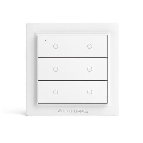 Youpin Aqara | OPPLE Wireless Switch Smart Homekit trabalhando com Mi Home App Interruptor de parede magnético Zigbee 3.0