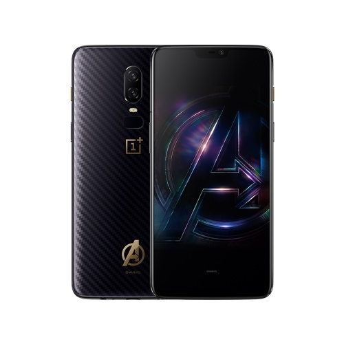 OnePlus 6 6.28 pulgadas Notch Display 8GB 256GB [Marvel's The Avengers Version]