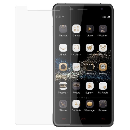 OUKITEL K4000 Pro Tempered Glass Screen Protector Cover Film 9H 0.33mm Ultrathin High Transparency Anti-dirt Shatterproof Anti-scratch