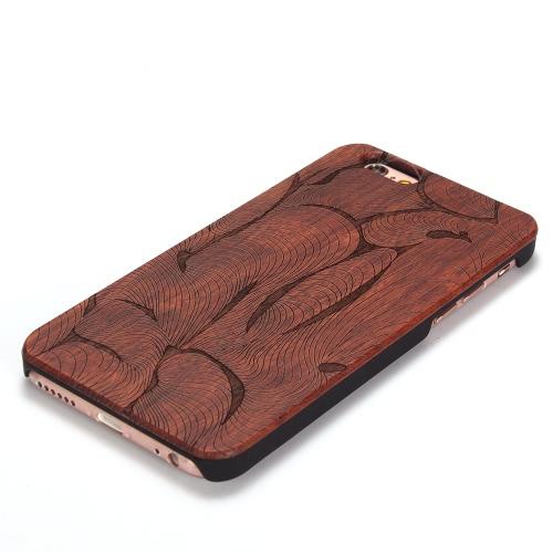 Палисандр KKmoon + PC телефон случай защитные покрытия Shell 4,7 дюйма iPhone 6 6S эко-материал стильный портативный ультратонких царапинам антипылевым прочный фото