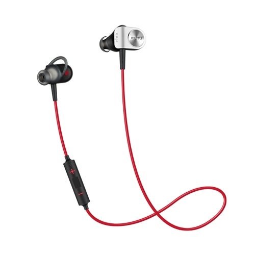 Original Meizu EP51 In-Ear Stereo Sports BT Headset Headphone Correr fone de ouvido com microfone Pair / Play / Pause para iPhone iOS Android 6 6S 6 Plus 6S Além disso Samsung S6 S7 S7 borda