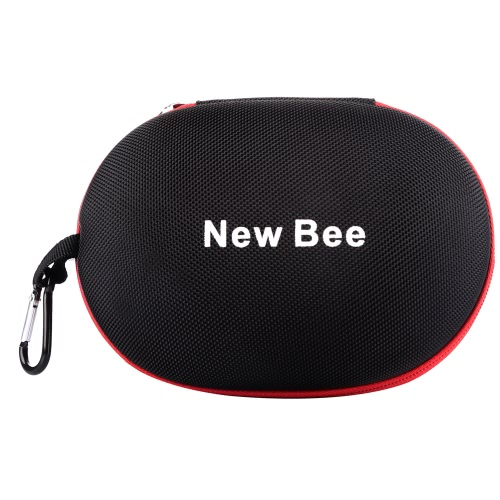 NewBee Headphone Bags Portable EVA Storage Bag for Folded Headset Chargers Cables