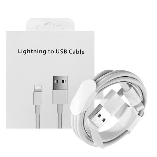 1M USBケーブル安定した高速充電高効率ポータブルデータケーブル、Lightningポート用