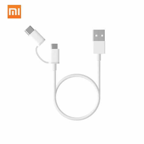 Xiaomi 3.3Ft USB 2.0 to Micro USB / Type C Charging Cable Sync Data Line Cord for Xiaomi Samsung