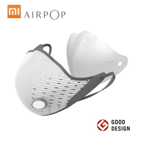Xiaomi AirPOP Active Mouth Mascarilla facial antivaho PM2.5 Anti-haze Anti-Dust Cycling Mask Transpirable con filtro reemplazable Máscaras de cubierta protectora facial para hombres unisex Mujeres
