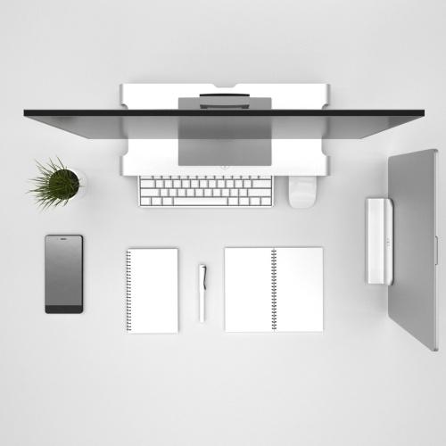 Xiaomi Mijia iQunix держатель монитора компьютера ПК ноутбук крепление ноутбука настольная подставка из алюминиевого сплава монитор подставка телевизора фото