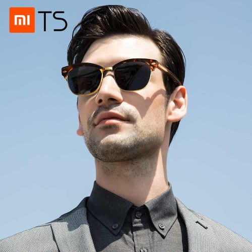 Xiaomi TS Sun Glass Sunglasses Fashion Frame Shades Ladies Eyewear Eye Protector Anti UV Protective Glasses For Men Women Adults SR014