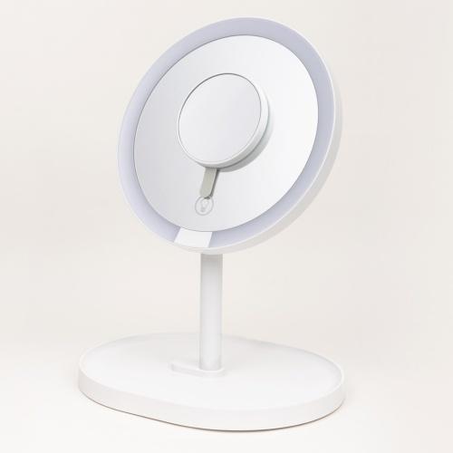 Xiaomi XY Youpin LED Touch Mirror Makeup Mirror Desktop Led Light Portable Folding Light Dormitory Mirror