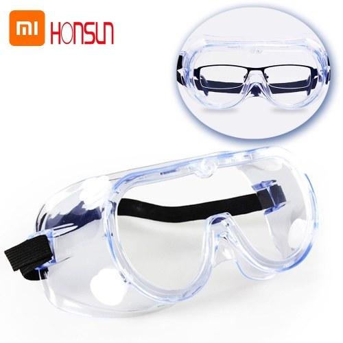 Xiaomi Youpin HONSUN Schutzbrille Vollständig geschlossenes Schutzokular Anti-Fog Anti-Splash Anti-Tröpfchen Anti-Staub Anti-Wind Anti-Virus