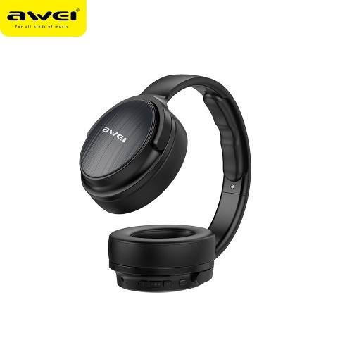 Auricular estéreo inalámbrico y con cable AWEI A780BL BT 5.0 / negro