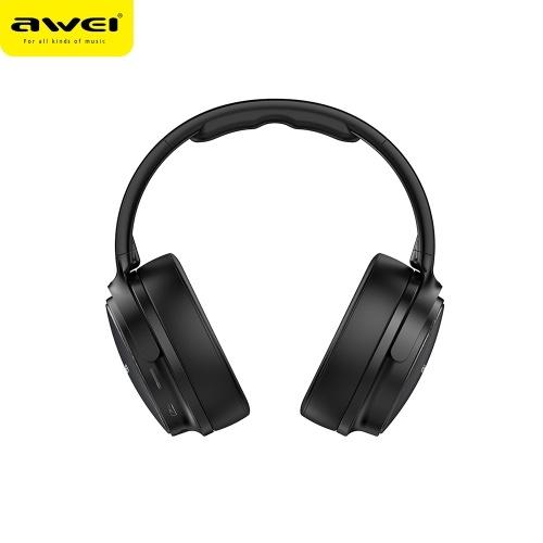 AWEI A780BL BT 5.0 Fone de ouvido estéreo com fio e sem fio / preto