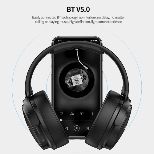 AWEI A780BL BT 5.0 Wireless&Wired Stereo Headphone  / Black