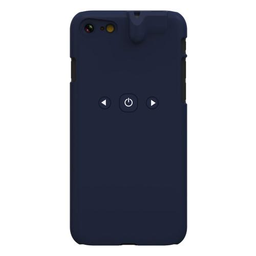 3 em 1 Smart Phone Case Jogador Bluetooth 3,5 milímetros fone Jack Aux Audio Converter protecção ABS Caso Controle Música para iPhone 7