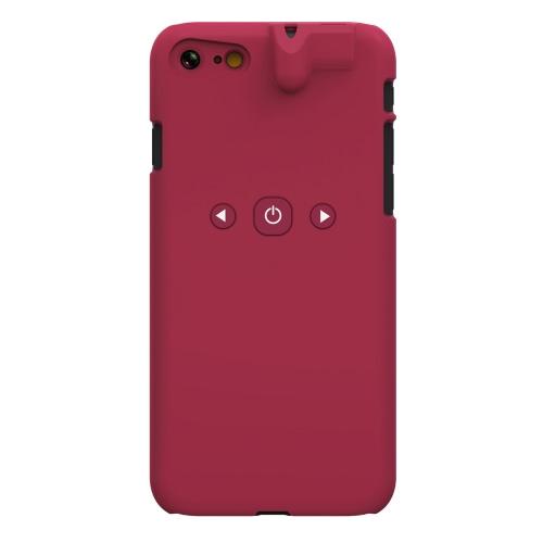3 em 1 Smart Phone Case Jogador BT 3,5 milímetros fone Jack Aux Audio Converter protecção ABS Caso Controle Música para iPhone 7