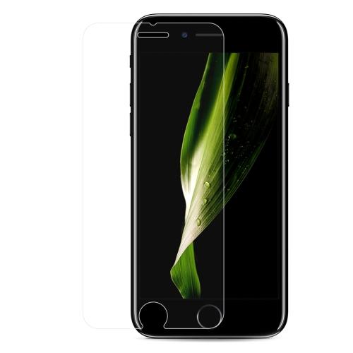 10 PCS pleine couverture de protection en verre trempé film protecteur d'écran de téléphone pour Apple iPhone 6 Plus 7 Plus 8 Plus 5,5 pouces anti-rayures