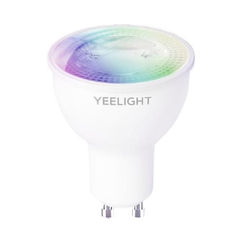 Yeelight GU10 Smart Buld W1 Multicolor 4.5W Lampadina con temperatura del colore regolabile e dimmerabile Lampada a risparmio energetico APP intelligente / Controllo vocale Funziona con Google / Alexa / SmartThings 2700-6500K 220-240V YLDP004-A