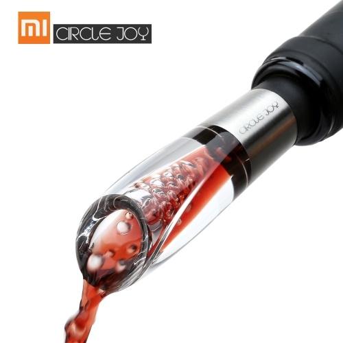 Xiaomi CIRCLE JOY Быстрый графин вина из нержавеющей стали Инструменты для розлива вина Мини-бутылка красного вина Аэратор Портативный винный фильтр Воздухозаборник Бутылка Pourer для семейного бара
