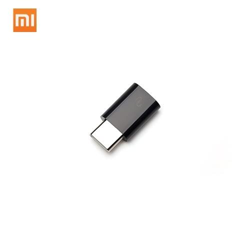 Original Xiaomi USB Tipo-C Adaptador Micro USB Para Tipo-C USB Power Adapter para Xiaomi 8 MiX Redmi Notebook