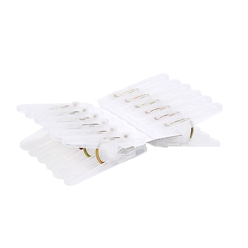 20 Pcs Xiaomi Youpin Quange Clothespin Clips Clothes Photo Paper Peg Pin Windproof Pegs Mini Decoration Clips for Home Office