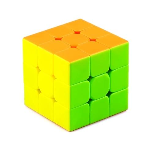 3 x 3 Speed Cube Puzzlespiel Langlebiger Magic Cube Einfaches Drehen Magic Speed Cube Puzzle Cube Geschenk für Kinder ab 7 Jahren Weihnachtsstrumpf