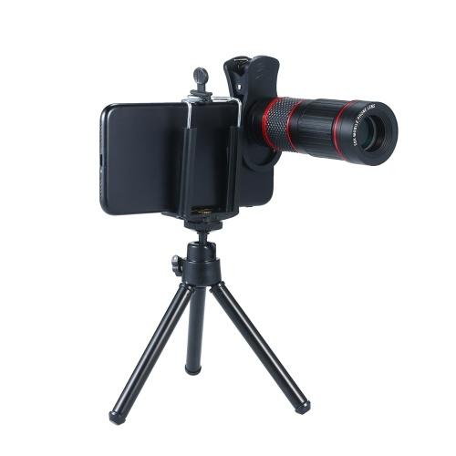 Telefon Kamera Teleskop Zoomobjektiv Monokular Teleobjektiv Kit