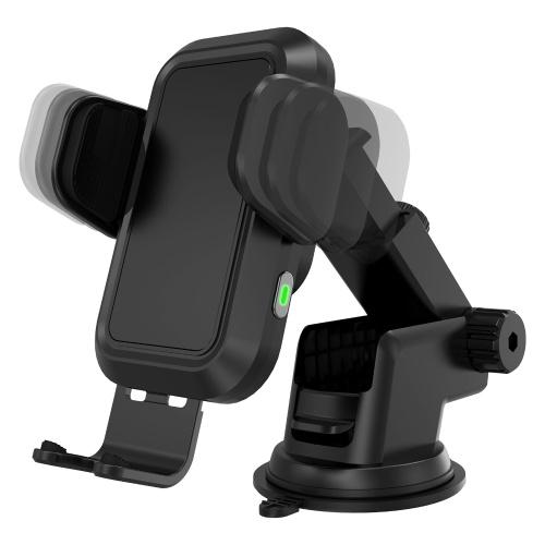 Беспроводное автомобильное зарядное устройство CC-20 15 Вт, держатель для телефона с вентиляционным отверстием и автоматическим зажимом