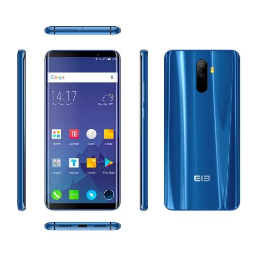 Elephone U 4G Face ID Smartphone 6 GB + 128 GB - Colore blu