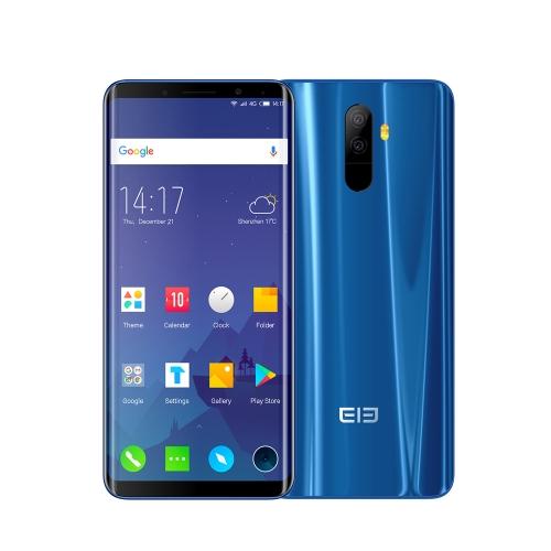 Elephone U 4G Face ID Смартфон 6 ГБ + 128 ГБ - Синий цвет