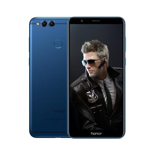 Huawei Honor 7X Handy 4 + 128 GB US-Stecker (Blau))