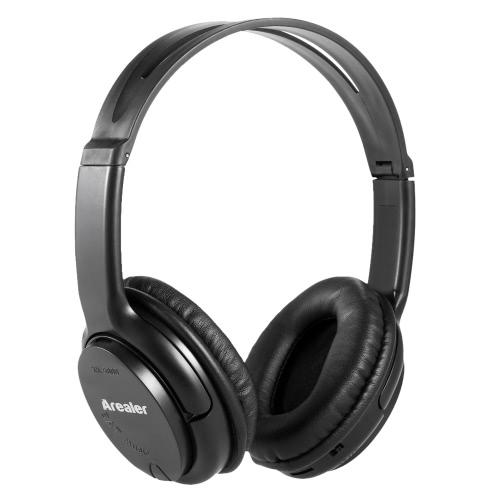 Original Arealer Wireless fone de ouvido BT Headset apoio rádio FM TF cartão MP3 Player com microfone para telefone móvel Tablet PC