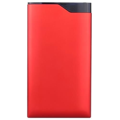 Портативный 6000mAh большой потенциал безопасного питания банка Dual USB для iPhone 6 6 плюс Samsung смартфонов HTC