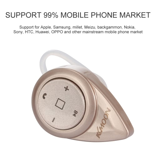 E1 Wireless Sports Bluetooth 4.0 Headset Earbud Hands-free Earphone Dual-connection Headphone with Clip for iPhone 6 6S 6 Plus 6S Plus Samsung S6 S6 edge S7 S7 edge Note 4 5 HTC Tablet