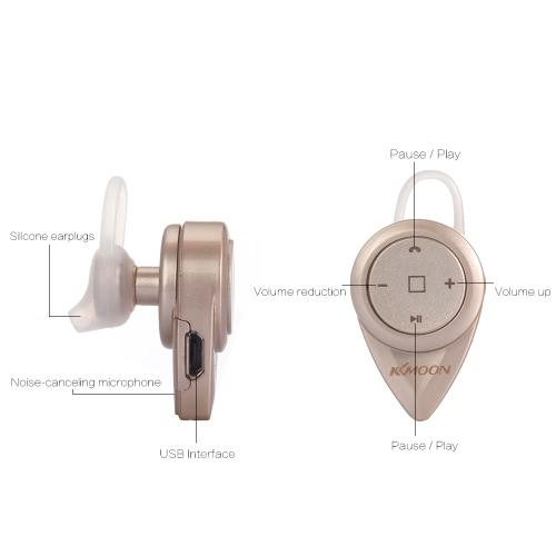 KKMOON E1 Wireless Sports Bluetooth 4.0 Headset Earbud Hands-free Earphone