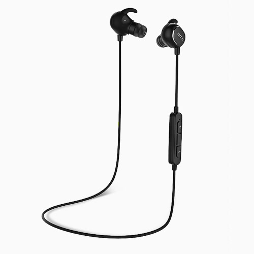 Original QCY QY19 Bluetooth Headset In-ear Sports Stereo Headphone CSR8645 Bluetooth 4.1 Earphone Hands-free with Microphone for iPhone 6 6S 6 Plus 6S Plus Samsung S7 S6 edge Smartphones