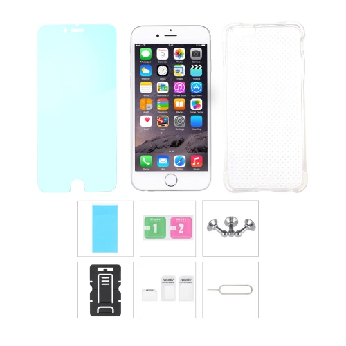 Fiche accessoires protection retour Case écran Film protecteur téléphone Stand carte Slot Pin écouteur poussière