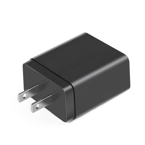 Carregador de parede portátil USB-C de viagem portátil US Power Plug e USB C Tipo de cabo de cabo Carregador 15W Adaptador de carga de energia para smartphones com porta de tipo C