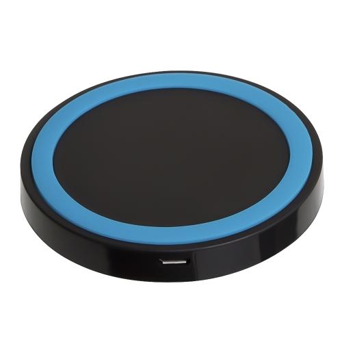 Q5 Carregador sem fio para Iphone Samsung S6 Mi Lenovo Telefone móvel Macro USB Phone-charger