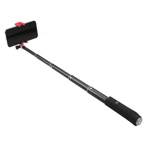 Selfie Stick Aluminiumlegierung BT Phone Selfie Stick Free Retractable Rod