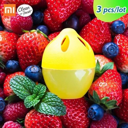 3PCS/LOT Xiaomi Mijia Clean-n-Fresh Deodorant Filter Purify Kitchen Refrigerator Sterilizing Deorderizer Filter