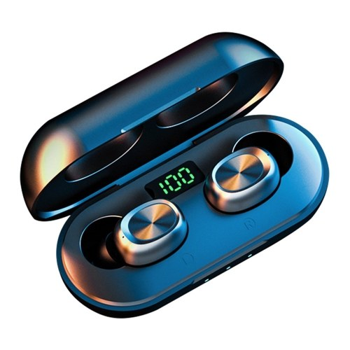 B5 TWS Wireless Earphones BT 5.0 Stereo Sound Earbuds with Charging Case