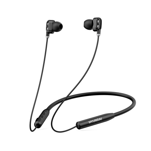 HYUNDAI Neckband Earphones Wireless Stereo Earbuds with In-line Microphone