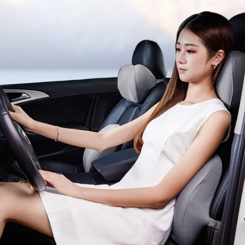Xiaomi Youpin Maiwei Car Headrest Pillow Lumba Suport Cushion Relax 65D/80D Sense Memory Sponge Cotton Office Car, TOMTOP  - buy with discount
