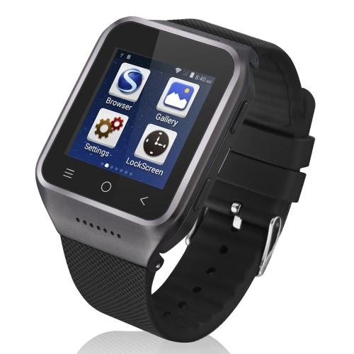 ZGPAX S8 3G WCDMA 2G GSM MTK6752 1,2 GHz Double Coeur Smart Montre Téléphone 1,54