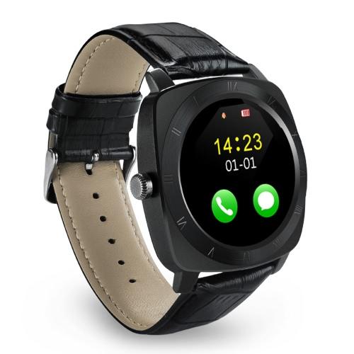 Iradish X3 relógio inteligente 2G GSM BT Telefone MTK6261D 1.33inch tela única Núcleo 32MB RAM 130W Camera 350mAh Battery Monitor de sono Saúde pedômetro sono Monitor de sedentário para lembrar o iPhone Samsung Xiaomi iOS Smartphones Android