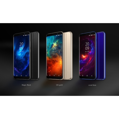 s80 smart phone 6.1 inches front and back quadric curved glass anion metallized border post fingerprint identification
