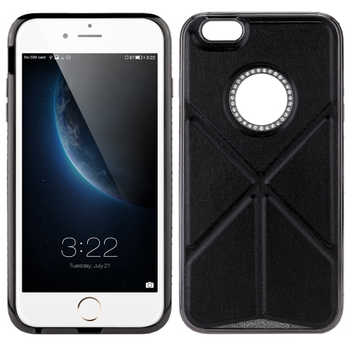 ChengGuo era Phone Shell Protective Case Stand for iPhone 6 Plus Metal Frame Eco-friendly Portable Anti-scratch Anti-dust Antiskid Anti-fingerprints Shockproof Dirtproof Durable