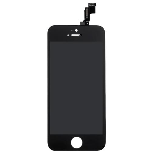 Внешний LCD емкостной экран мультитач дигитайзер замена Ассамблеи фронт Замена стекла с IC для iPhone 5S