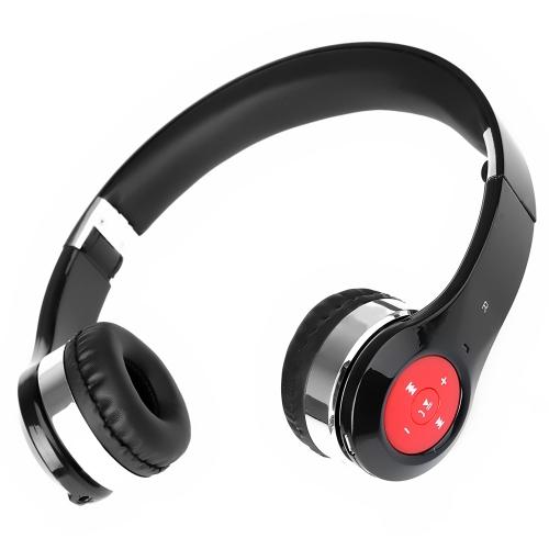 New Bee Cuffia Auricolare di Bluetooth Stereo Senza Fili  Cuffie Distendibili Pieghevoli con Microfono BT Accendere / Spegnere Riprodurre Controllo di Volume Canzone Precedente Canzone Successiva Ridigitare / Rispondere a / Rifiutare / Terminare le Chiamate per iPhone 6 6 Plus 6S 6S Plus Samsung S6